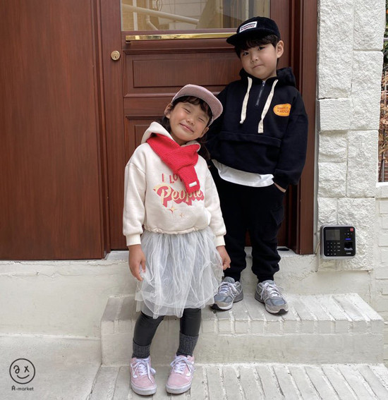 A-MARKET - Korean Children Fashion - #Kfashion4kids - Knit Muffler - 8