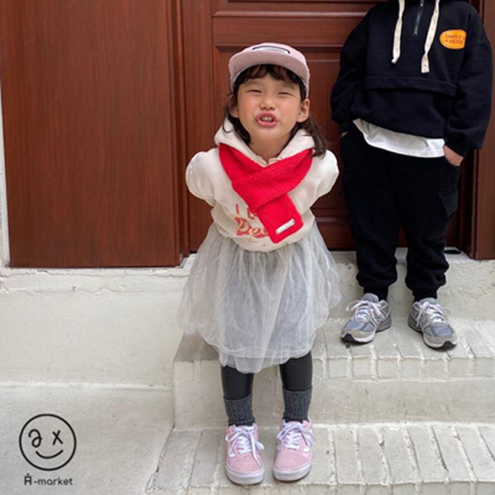 A-MARKET - BRAND - Korean Children Fashion - #Kfashion4kids - Knit Muffler