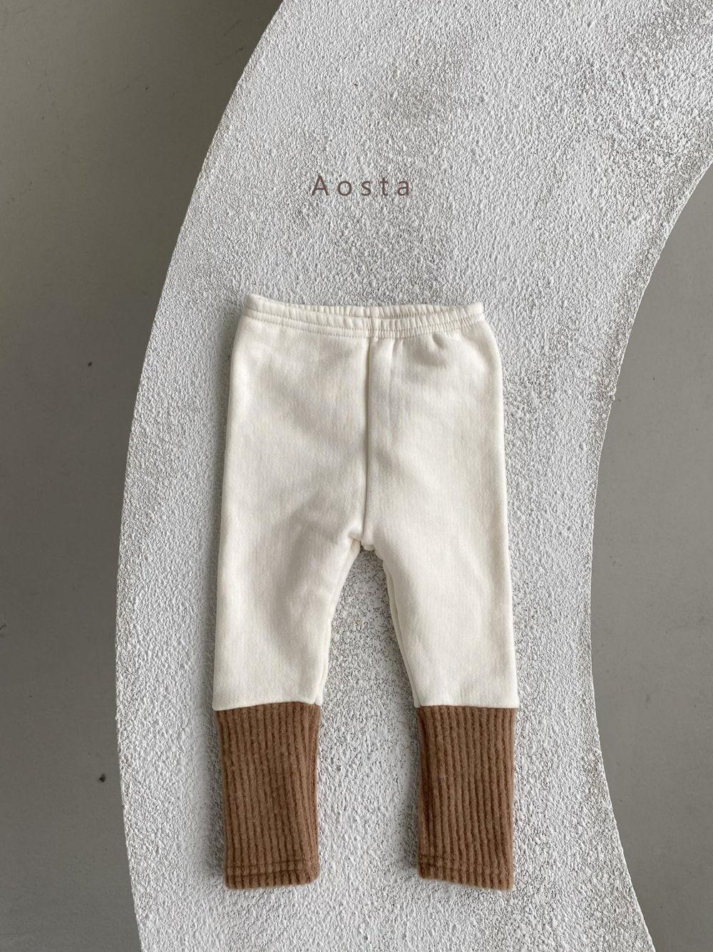 AOSTA - Korean Children Fashion - #Kfashion4kids - Warmer Leggings - 2