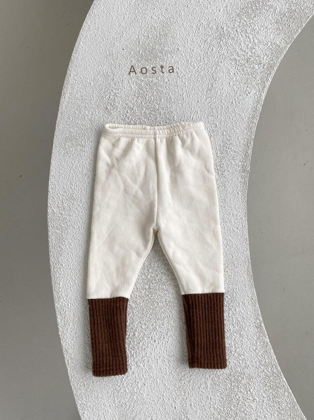 AOSTA - Korean Children Fashion - #Kfashion4kids - Warmer Leggings - 3