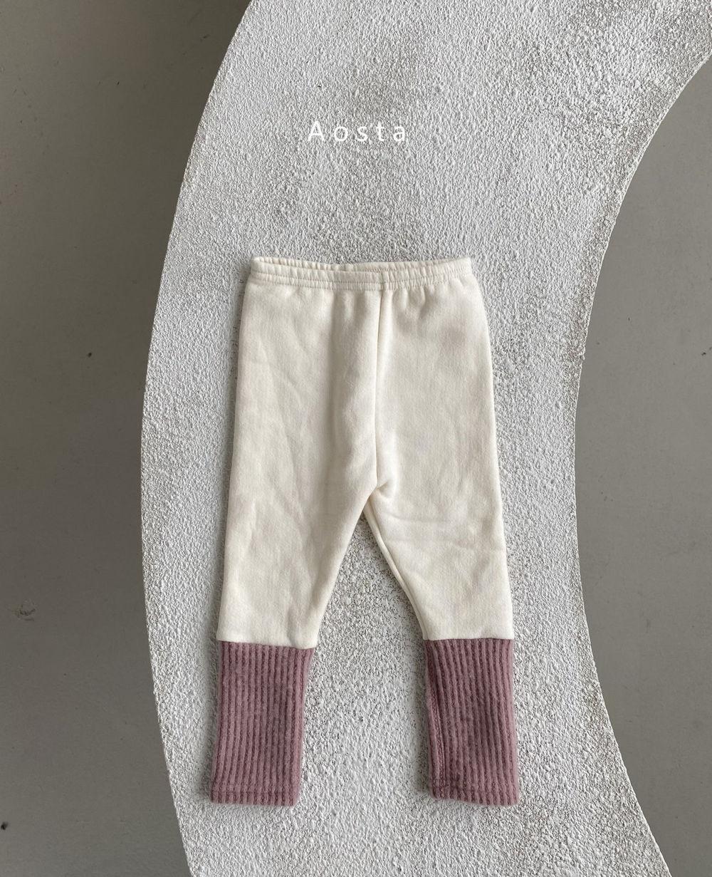 AOSTA - Korean Children Fashion - #Kfashion4kids - Warmer Leggings - 5