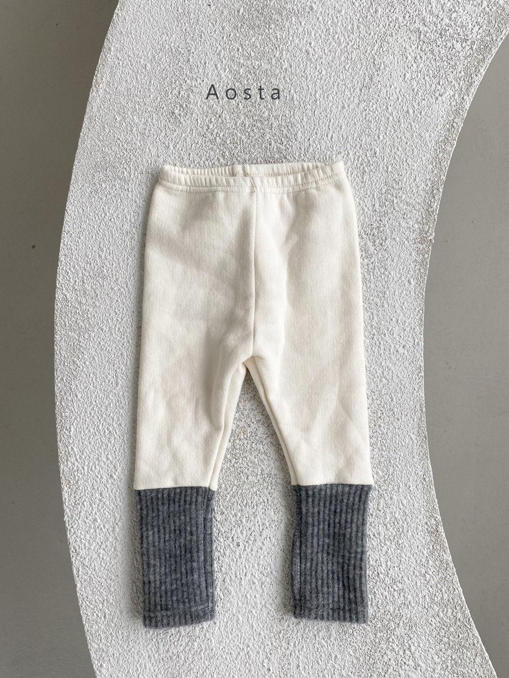 AOSTA - Korean Children Fashion - #Kfashion4kids - Warmer Leggings - 6