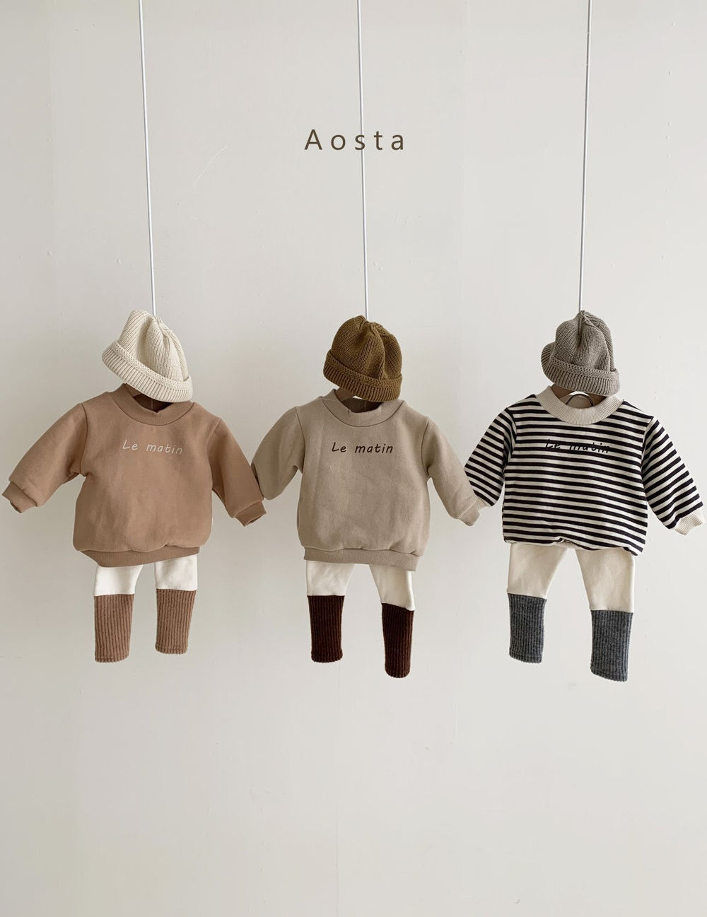 AOSTA - Korean Children Fashion - #Kfashion4kids - Warmer Leggings - 9