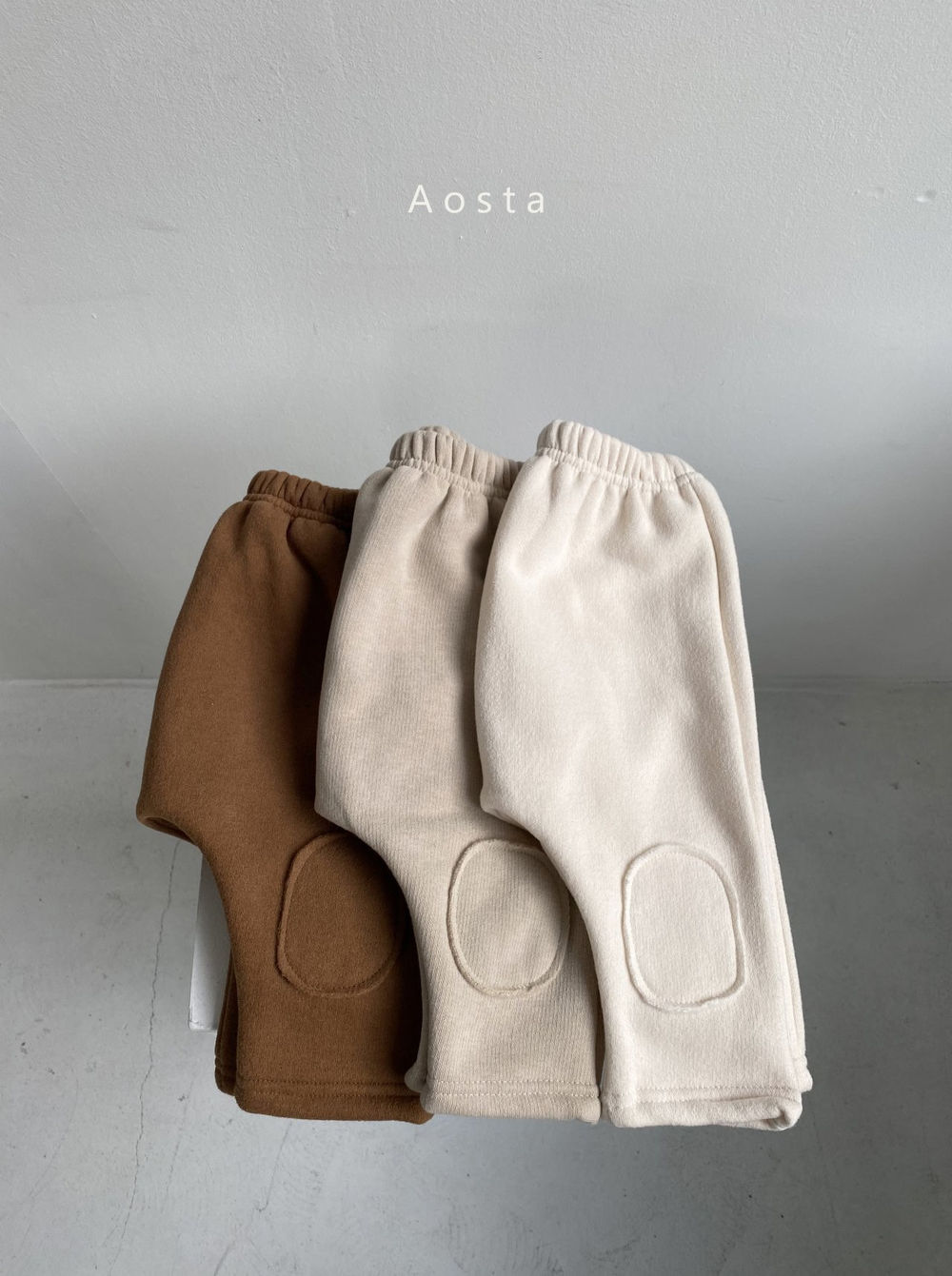AOSTA - Korean Children Fashion - #Kfashion4kids - Bbang Fleeced Warm Pants