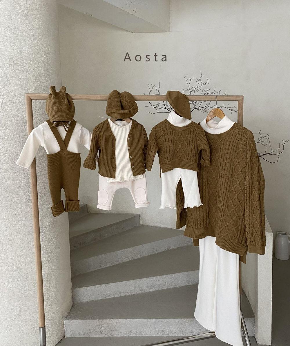 AOSTA - Korean Children Fashion - #Kfashion4kids - Bbang Fleeced Warm Pants - 10