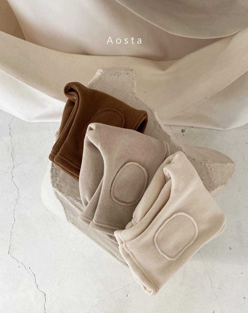 AOSTA - BRAND - Korean Children Fashion - #Kfashion4kids - Bbang Fleeced Warm Pants