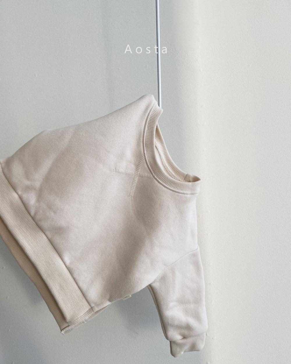 AOSTA - Korean Children Fashion - #Kfashion4kids - Bbang Fleeced Sweatshirt - 10