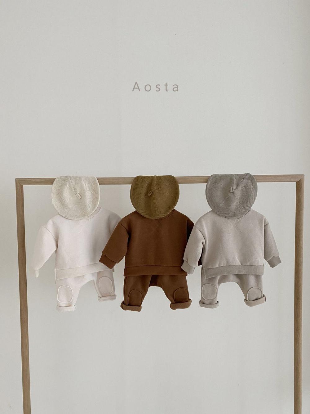 AOSTA - Korean Children Fashion - #Kfashion4kids - Bbang Fleeced Sweatshirt - 2