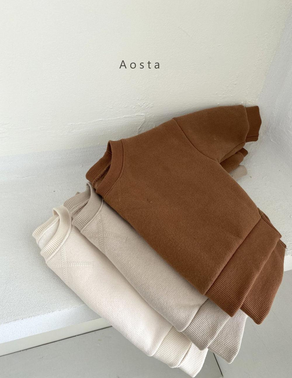 AOSTA - Korean Children Fashion - #Kfashion4kids - Bbang Fleeced Sweatshirt - 3