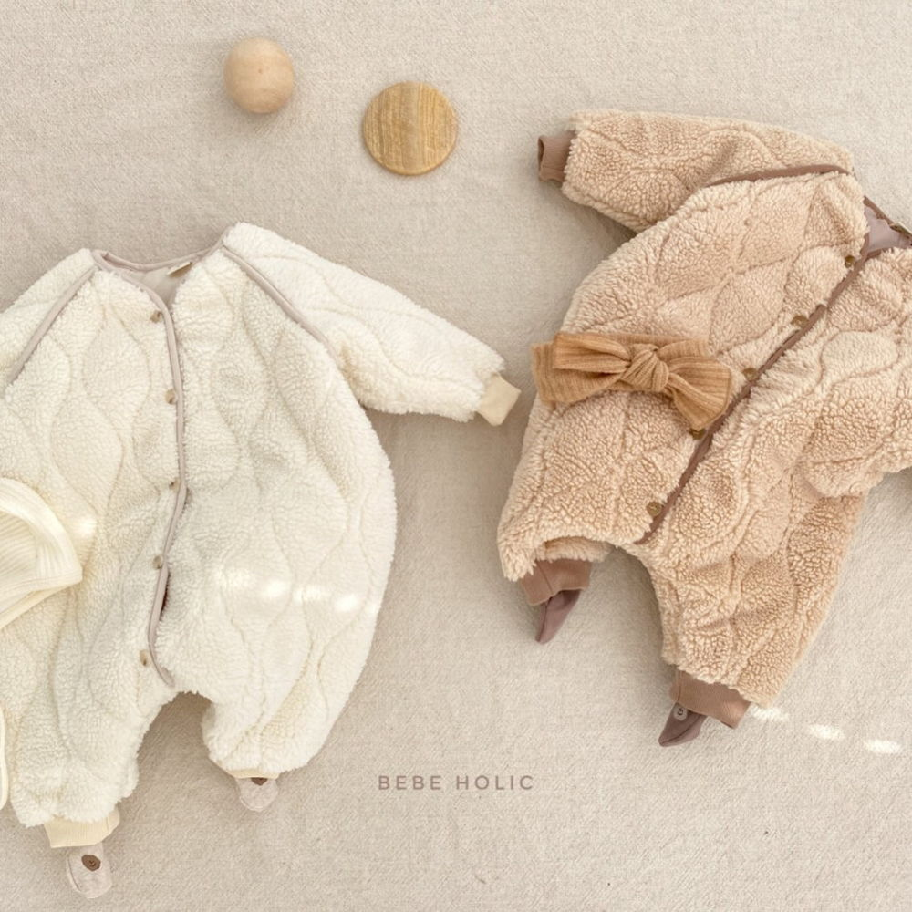 BEBE HOLIC - Korean Children Fashion - #Kfashion4kids - Bebe Padding Outer Bodysuit - 2
