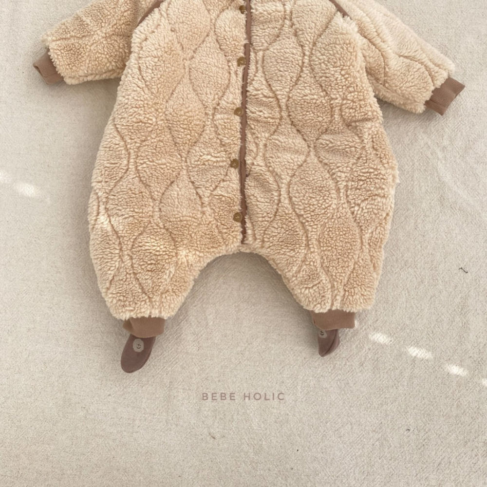 BEBE HOLIC - Korean Children Fashion - #Kfashion4kids - Bebe Padding Outer Bodysuit - 5