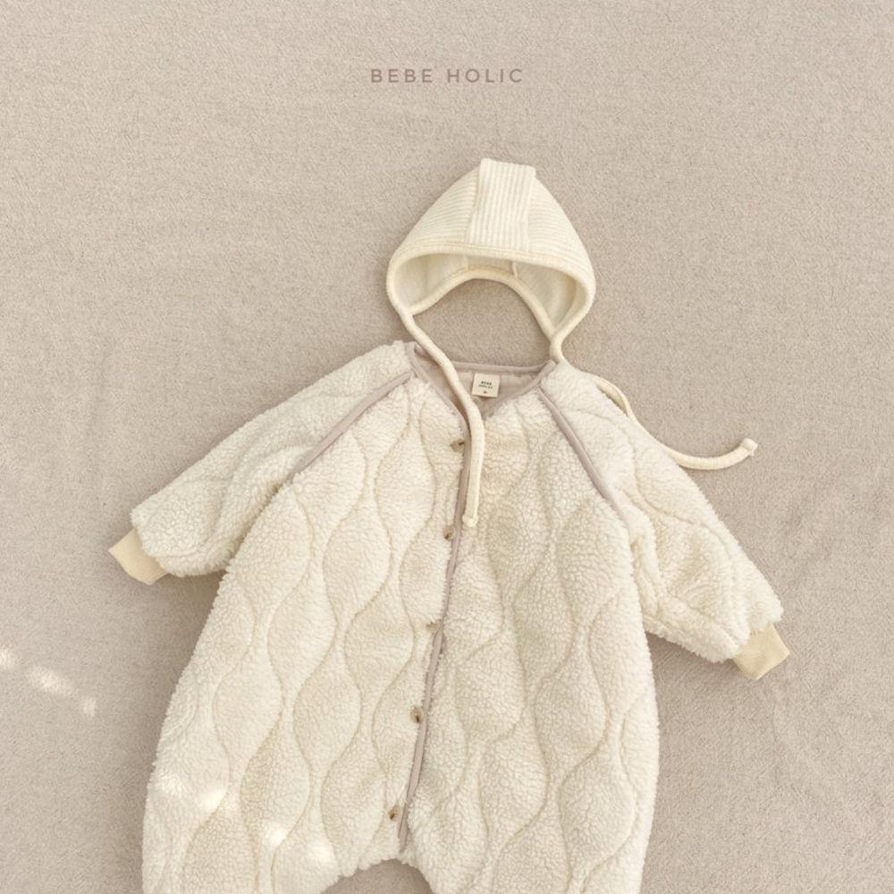 BEBE HOLIC - Korean Children Fashion - #Kfashion4kids - Bebe Padding Outer Bodysuit - 7