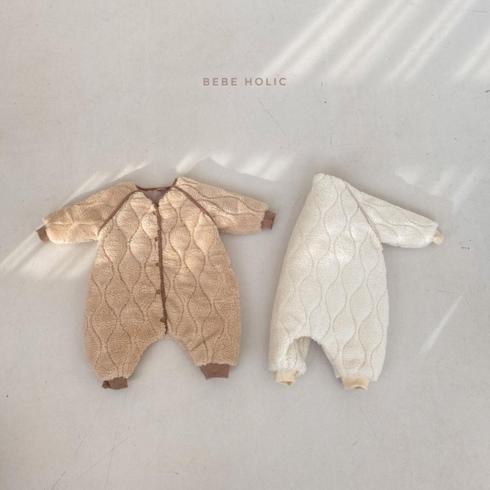 BEBE HOLIC - Korean Children Fashion - #Kfashion4kids - Bebe Padding Outer Bodysuit - 8