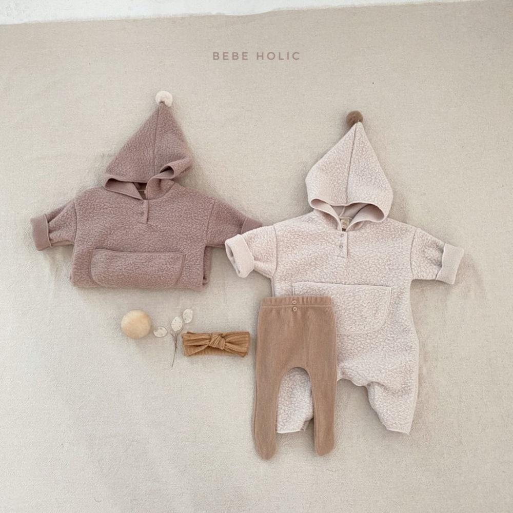 BEBE HOLIC - BRAND - Korean Children Fashion - #Kfashion4kids - Dumble Outer Bodysuit