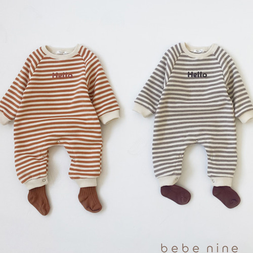 BEBE NINE - BRAND - Korean Children Fashion - #Kfashion4kids - Hello Bodysuit