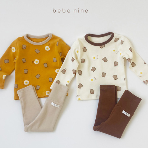 BEBE NINE - BRAND - Korean Children Fashion - #Kfashion4kids - Bread Loungewear