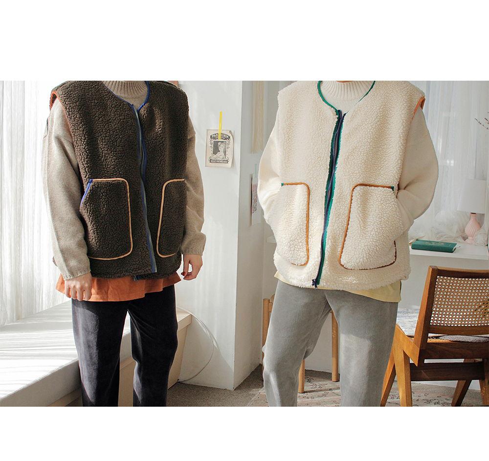 BIEN A BIEN - Korean Children Fashion - #Kfashion4kids - Adult Mue Dumble Vest