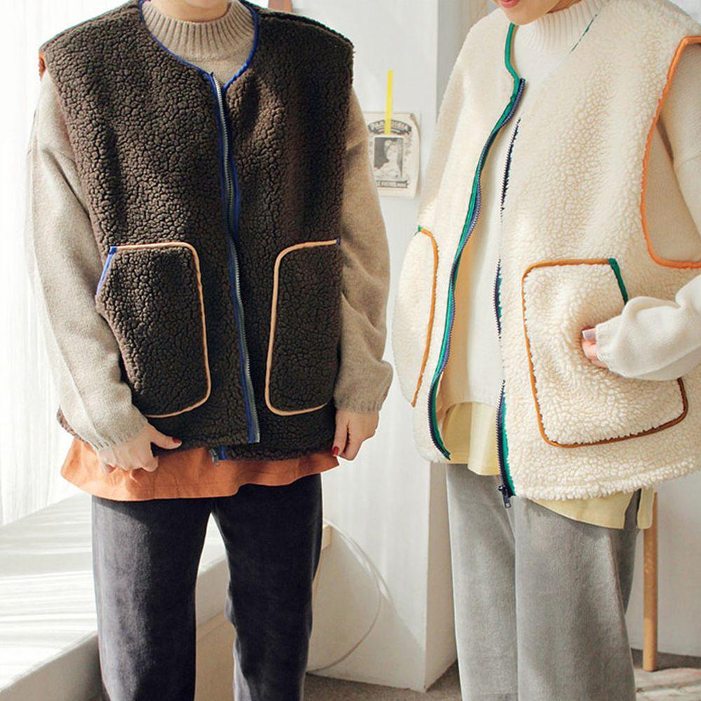 BIEN A BIEN - BRAND - Korean Children Fashion - #Kfashion4kids - Adult Mue Dumble Vest