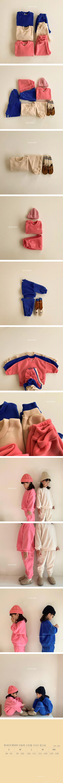 BLACK BEAN - Korean Children Fashion - #Kfashion4kids - Choux Cream Top Bottom Set