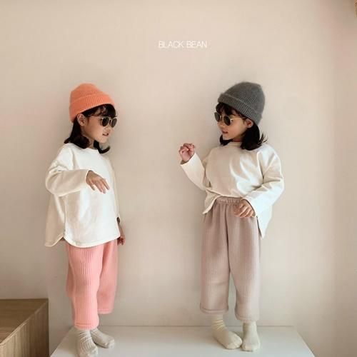 BLACK BEAN - BRAND - Korean Children Fashion - #Kfashion4kids - Cotton Candy Top Bottom Set