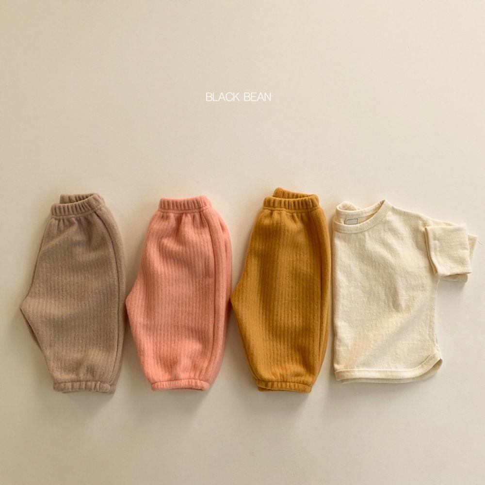 BLACK BEAN - BRAND - Korean Children Fashion - #Kfashion4kids - Bebe Cotton Candy Top Bottom Set