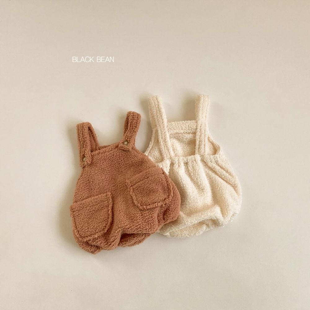 BLACK BEAN - BRAND - Korean Children Fashion - #Kfashion4kids - Soboru Suspender Pants