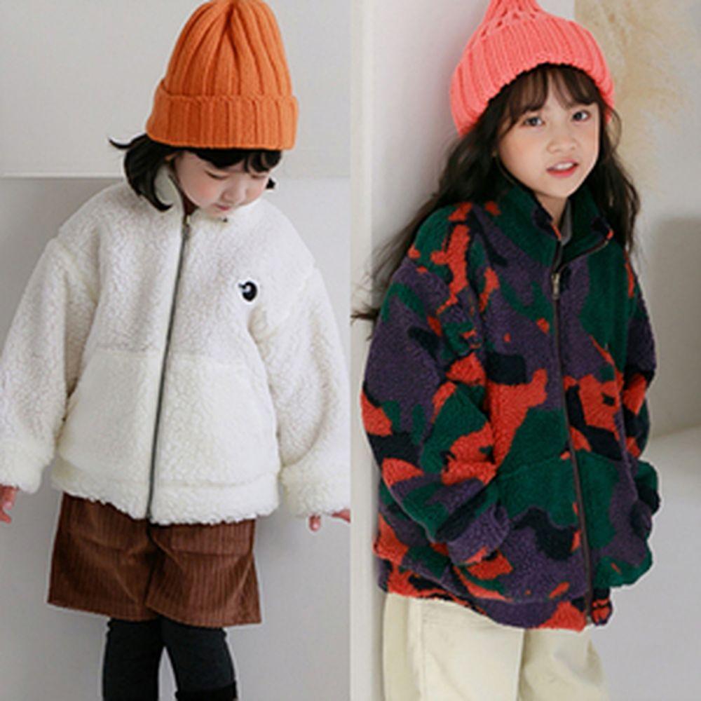 CHOUETTE - BRAND - Korean Children Fashion - #Kfashion4kids - Penguin Boa Jumper