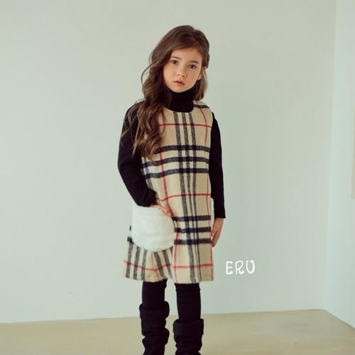 E.RU - BRAND - Korean Children Fashion - #Kfashion4kids - Jenny Jumper Skirt