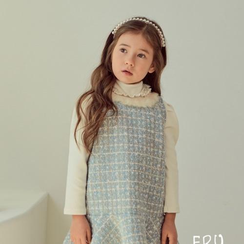 E.RU - BRAND - Korean Children Fashion - #Kfashion4kids - Cinere Turtleneck Tee