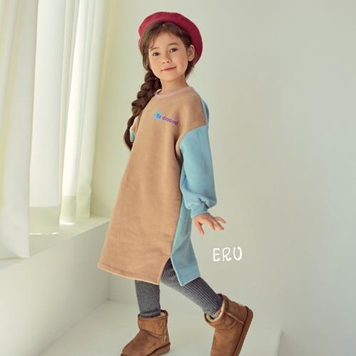 E.RU - BRAND - Korean Children Fashion - #Kfashion4kids - Colored One-piece