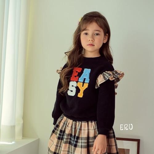 E.RU - BRAND - Korean Children Fashion - #Kfashion4kids - Barbie Easy Pullover