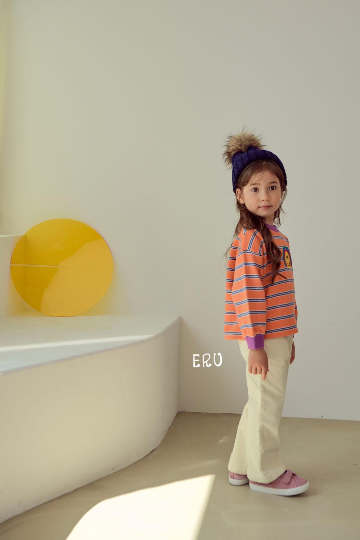 E.RU - Korean Children Fashion - #Kfashion4kids - Rainbow Smile Tee