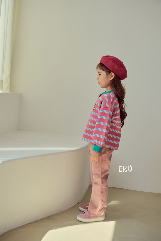E.RU - Korean Children Fashion - #Kfashion4kids - Rainbow Smile Tee - 10