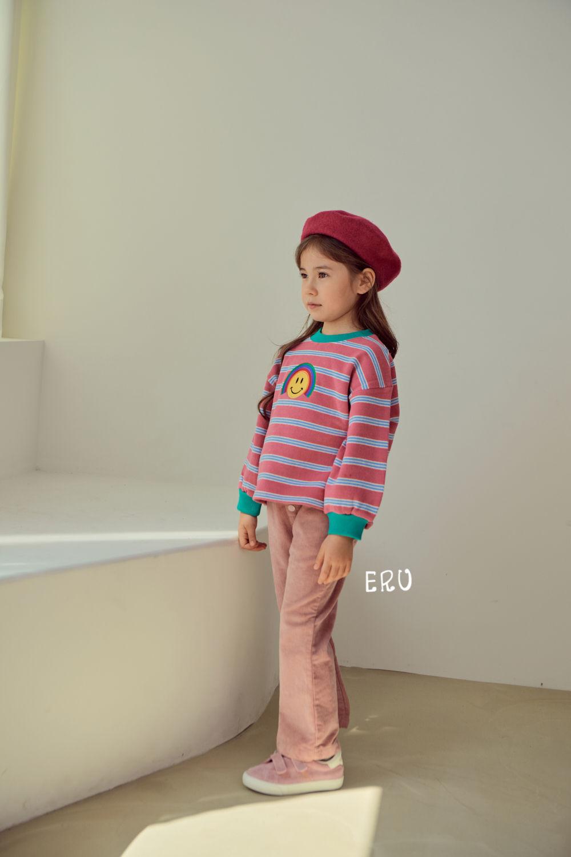 E.RU - Korean Children Fashion - #Kfashion4kids - Rainbow Smile Tee - 11