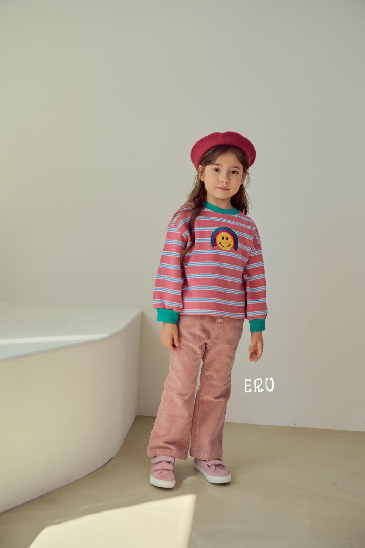 E.RU - Korean Children Fashion - #Kfashion4kids - Rainbow Smile Tee - 12