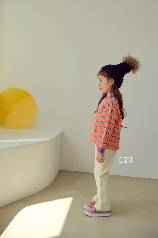 E.RU - Korean Children Fashion - #Kfashion4kids - Rainbow Smile Tee - 3