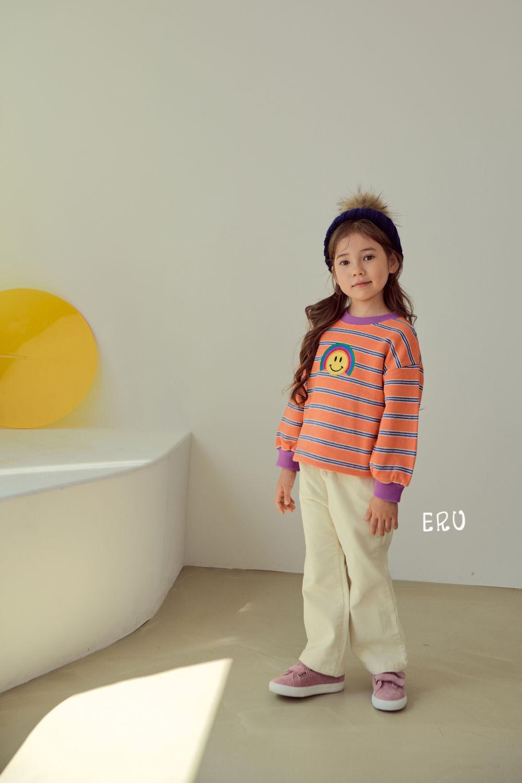 E.RU - Korean Children Fashion - #Kfashion4kids - Rainbow Smile Tee - 4