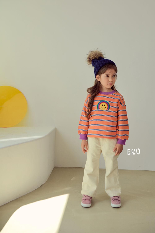 E.RU - Korean Children Fashion - #Kfashion4kids - Rainbow Smile Tee - 5