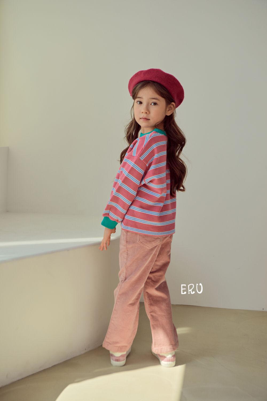 E.RU - Korean Children Fashion - #Kfashion4kids - Rainbow Smile Tee - 7