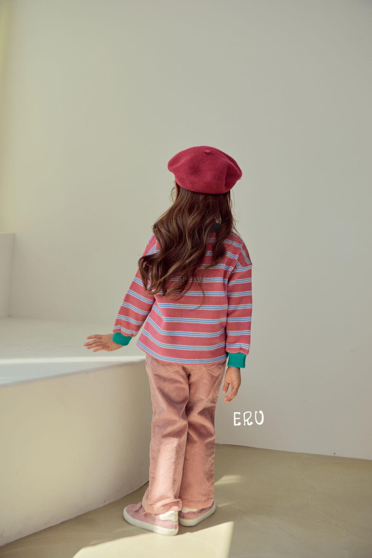 E.RU - Korean Children Fashion - #Kfashion4kids - Rainbow Smile Tee - 8