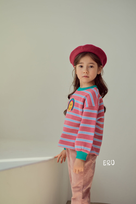 E.RU - Korean Children Fashion - #Kfashion4kids - Rainbow Smile Tee - 9
