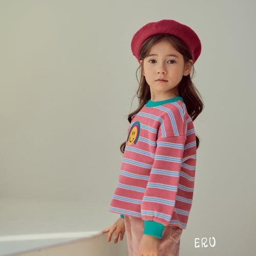 E.RU - BRAND - Korean Children Fashion - #Kfashion4kids - Rainbow Smile Tee