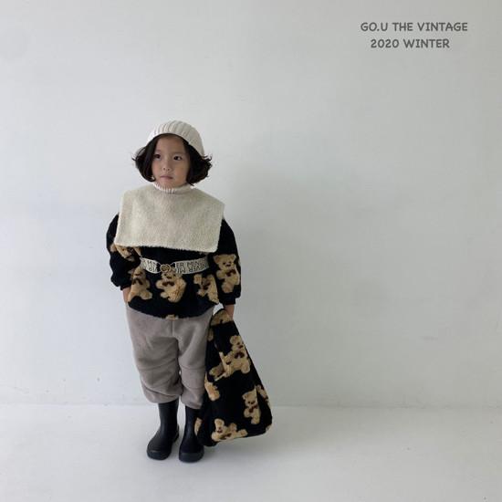 GOU - Korean Children Fashion - #Kfashion4kids - Bear MTM with Mom - 2