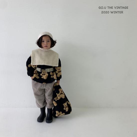 GOU - Korean Children Fashion - #Kfashion4kids - Bear MTM with Mom - 3