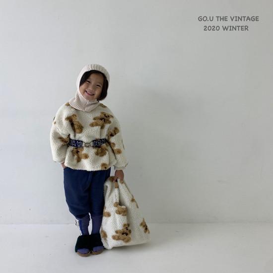 GOU - Korean Children Fashion - #Kfashion4kids - Bear MTM with Mom - 4