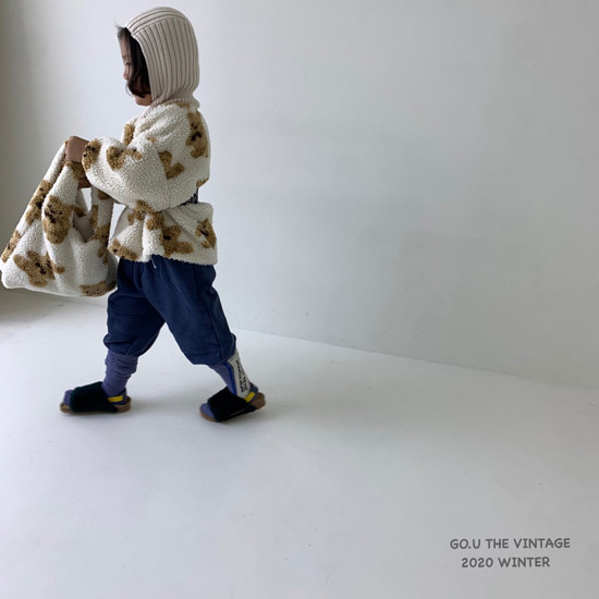 GOU - Korean Children Fashion - #Kfashion4kids - Bear MTM with Mom - 5