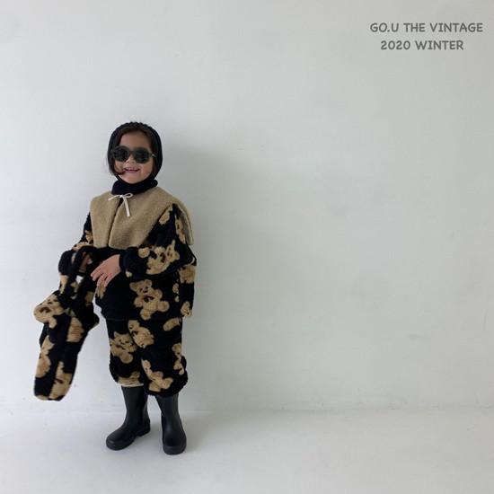 GOU - Korean Children Fashion - #Kfashion4kids - Bear MTM with Mom - 6