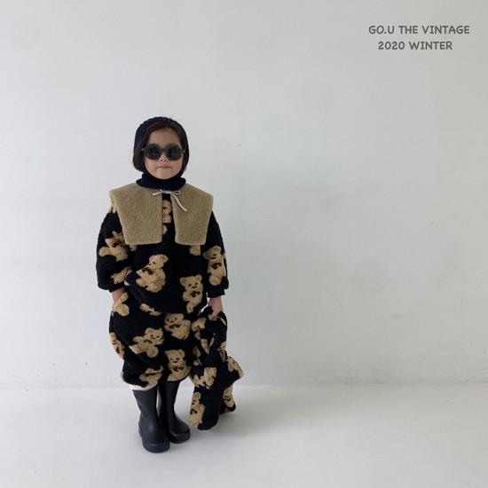 GOU - Korean Children Fashion - #Kfashion4kids - Bear MTM with Mom - 7
