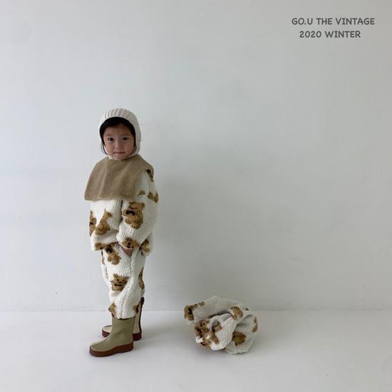 GOU - Korean Children Fashion - #Kfashion4kids - Bear MTM with Mom - 9
