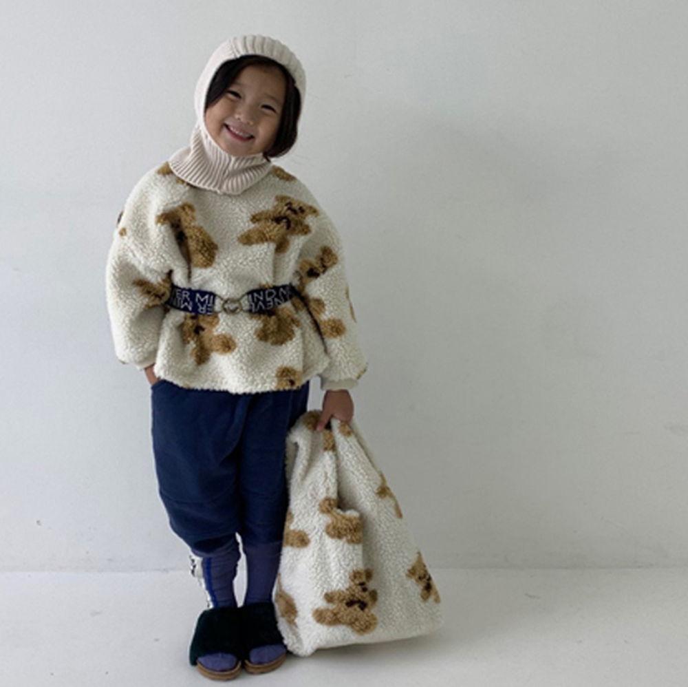 GOU - BRAND - Korean Children Fashion - #Kfashion4kids - Bear MTM with Mom